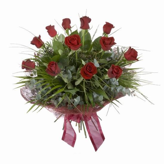 Etkileyici buket 11 adet kirmizi gül buketi  Kırşehir çiçekçi mağazası