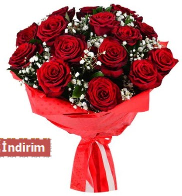 12 Adet kırmızı aşk gülleri  Kırşehir çiçek gönderme