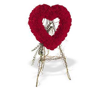 Kırşehir çiçekçi mağazası  karanfillerden kalp pano