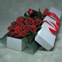 Kırşehir internetten çiçek siparişi  11 adet gülden kutu