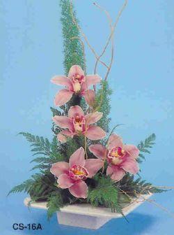 Kırşehir çiçek yolla  vazoda 4 adet orkide