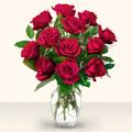 Kırşehir İnternetten çiçek siparişi  10 adet gül cam yada mika vazo da