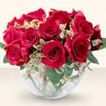 Kırşehir anneler günü çiçek yolla  mika yada cam içerisinde 10 gül - sevenler için ideal seçim -