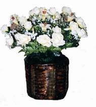 yapay karisik çiçek sepeti   Kırşehir çiçek siparişi vermek