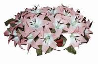 yapay karisik çiçek sepeti   Kırşehir ucuz çiçek gönder