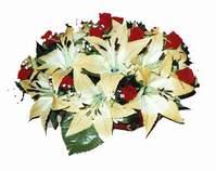 yapay karisik çiçek sepeti   Kırşehir internetten çiçek satışı