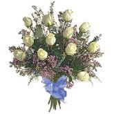 bir düzine beyaz gül buketi   Kırşehir çiçek yolla , çiçek gönder , çiçekçi