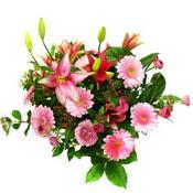 lilyum ve gerbera çiçekleri - çiçek seçimi -  Kırşehir çiçek gönderme sitemiz güvenlidir