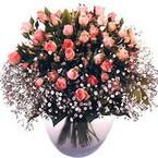 büyük cam fanusta güller   Kırşehir İnternetten çiçek siparişi