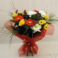 Kırşehir çiçek , çiçekçi , çiçekçilik  Karisik mevsim demeti