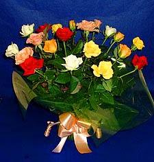 Kırşehir çiçek , çiçekçi , çiçekçilik  13 adet karisik renkli güller