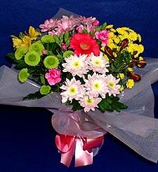 Kırşehir çiçek , çiçekçi , çiçekçilik  küçük karisik mevsim demeti