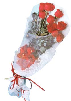 11 adet kirmizi güller buket tanzimi   Kırşehir hediye çiçek yolla