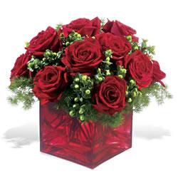Kırşehir İnternetten çiçek siparişi  9 adet kirmizi gül cam yada mika vazoda