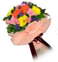 Kırşehir ucuz çiçek gönder  Karisik mevsim çiçeklerinden demet