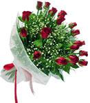 Kırşehir çiçekçi mağazası  11 adet kirmizi gül buketi sade ve hos sevenler