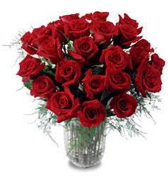 Kırşehir çiçek yolla , çiçek gönder , çiçekçi   11 adet kirmizi gül cam yada mika vazo içerisinde