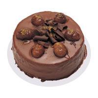 Kestaneli çikolatali yas pasta  Kırşehir çiçekçi telefonları