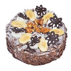 Muzlu çikolatali yas pasta 4 ile 6 kisilik   Kırşehir cicek , cicekci