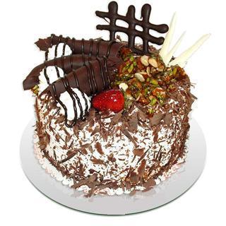 4 ile 6 kisilik çikolatali yas pasta  Kırşehir çiçek servisi , çiçekçi adresleri
