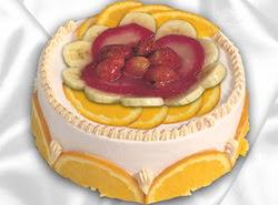 leziz pastane 4 ile 6 kisilik yas pasta meyvali yaspasta  Kırşehir çiçek servisi , çiçekçi adresleri