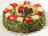 pasta gönder  4 ile 6 kisilik karisik meyvali yas pasta  Kırşehir internetten çiçek satışı