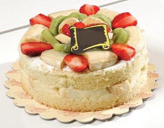 pasta siparisi 4 ile 6 kisilik karisik meyvali yas pasta  Kırşehir hediye sevgilime hediye çiçek