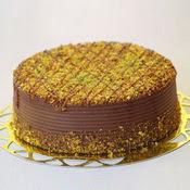sanatsal pastaci 4 ile 6 kisilik krokan çikolatali yas pasta  Kırşehir çiçek siparişi vermek