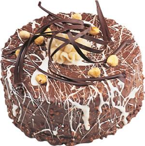 pasta satisi 4 ile 6 kisilik çikolatali yas pasta  Kırşehir online çiçekçi , çiçek siparişi