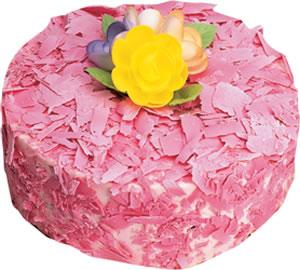 pasta siparisi 4 ile 6 kisilik framboazli yas pasta  Kırşehir İnternetten çiçek siparişi