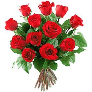 11 adet bakara kirmizi gül buketi  Kırşehir çiçek mağazası , çiçekçi adresleri