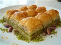 tatli siparisi essiz lezzette 1 kilo fistikli baklava  Kırşehir hediye çiçek yolla