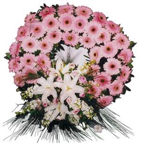 Cenaze çelengi cenaze çiçekleri  Kırşehir çiçekçiler