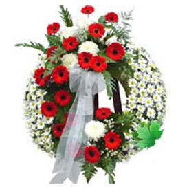 Cenaze çelengi cenaze çiçek modeli  Kırşehir cicek , cicekci