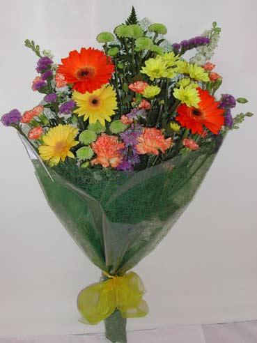 karisik kir çiçek buketi çiçek gönderimi  Kırşehir online çiçek gönderme sipariş