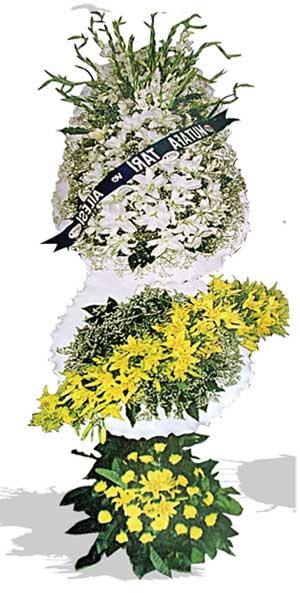Dügün nikah açilis çiçekleri sepet modeli  Kırşehir çiçekçi telefonları