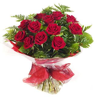 Ucuz Çiçek siparisi 11 kirmizi gül buketi  Kırşehir anneler günü çiçek yolla