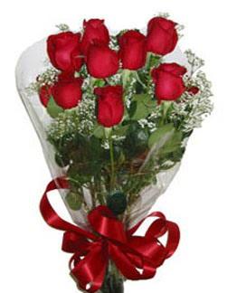 Çiçek sade gül buketi 7 güllü buket  Kırşehir internetten çiçek siparişi