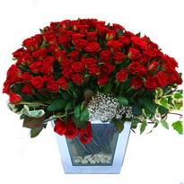 Kırşehir çiçek siparişi sitesi   101 adet kirmizi gül aranjmani