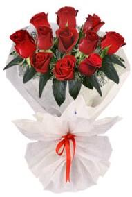 11 adet gül buketi  Kırşehir internetten çiçek satışı  kirmizi gül