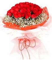 Kırşehir 14 şubat sevgililer günü çiçek  21 adet askin kirmizi gül buketi