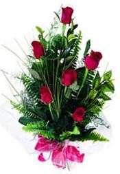 Kırşehir çiçek mağazası , çiçekçi adresleri  5 adet kirmizi gül buketi hediye ürünü
