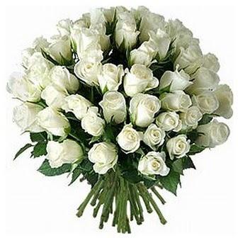 Kırşehir hediye sevgilime hediye çiçek  33 adet beyaz gül buketi