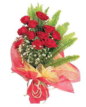 Kırşehir online çiçekçi , çiçek siparişi  11 adet kırmızı güllerden buket modeli