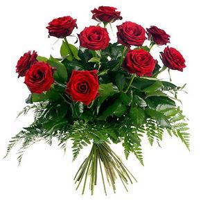 Kırşehir çiçek gönderme sitemiz güvenlidir  10 adet kırmızı gülden buket