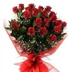 İlginç Hediye 21 Adet kırmızı gül  Kırşehir internetten çiçek satışı