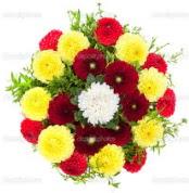 Kırşehir ucuz çiçek gönder  13 adet mevsim çiçeğinden görsel buket