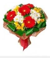 1 demet karışık buket  Kırşehir 14 şubat sevgililer günü çiçek