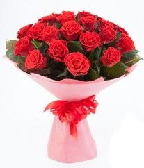 15 adet kırmızı gülden buket tanzimi  Kırşehir hediye çiçek yolla