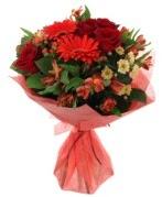 karışık mevsim buketi  Kırşehir internetten çiçek satışı